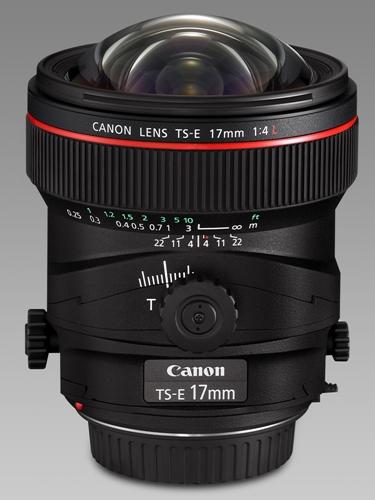 Canon TS-E 17mm /4 L