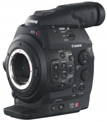 Canon Cinema EOS C300 - DAF kompatibilis