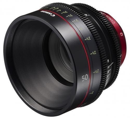 Canon Cine CN-E 50mm / T 1.3 L F  - EF bajonettes